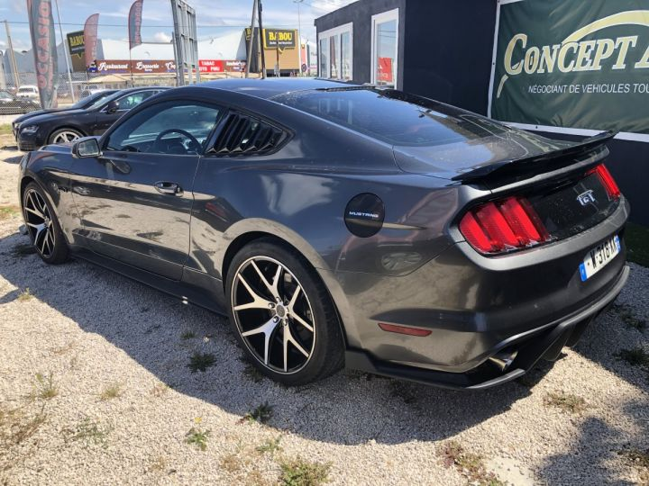 Ford Mustang GT PREMIUM 5.0 V8 GRIS FONCE METAL  Occasion - 4