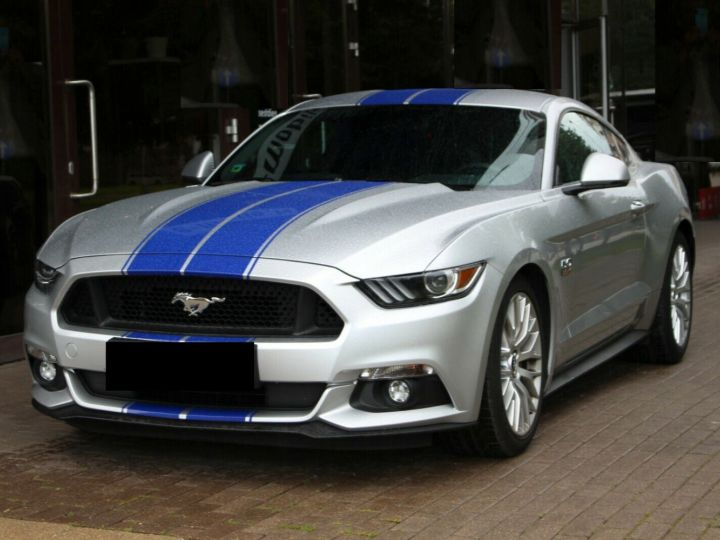 Ford Mustang GT Supercharged Magnetic ride - ROUSH Mustang 670CH 19' Gris Argent Clair - 1