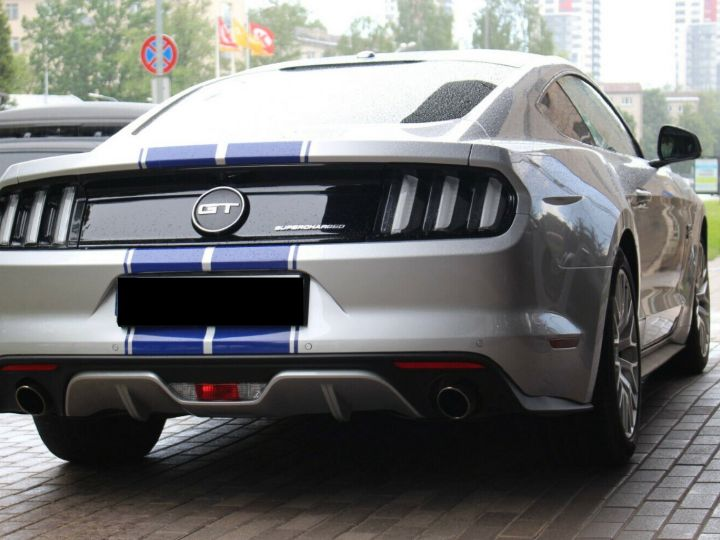 Ford Mustang GT Supercharged Magnetic ride - ROUSH Mustang 670CH 19' Gris Argent Clair - 2