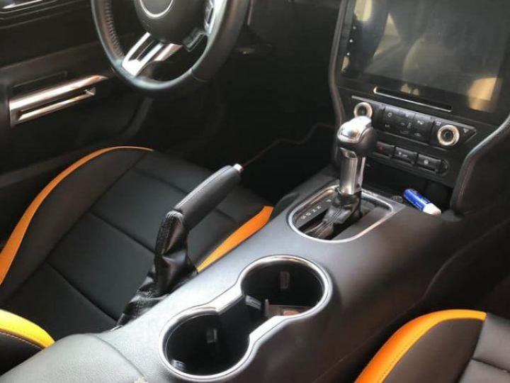 Ford Mustang GT V8 450ch BVA 10 *Homologuée, livrée et garantie 12 mois* Orange - 5
