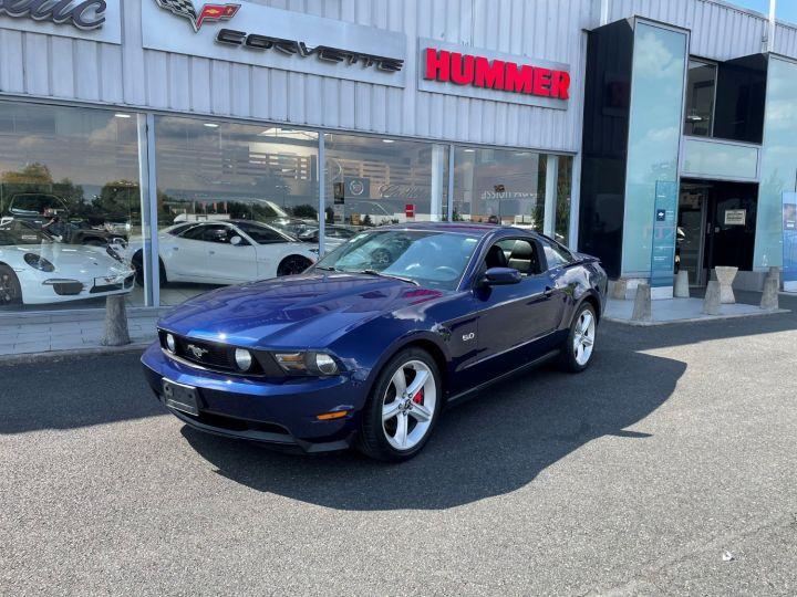 Ford Mustang GT V8 5.0L Bleu - 1