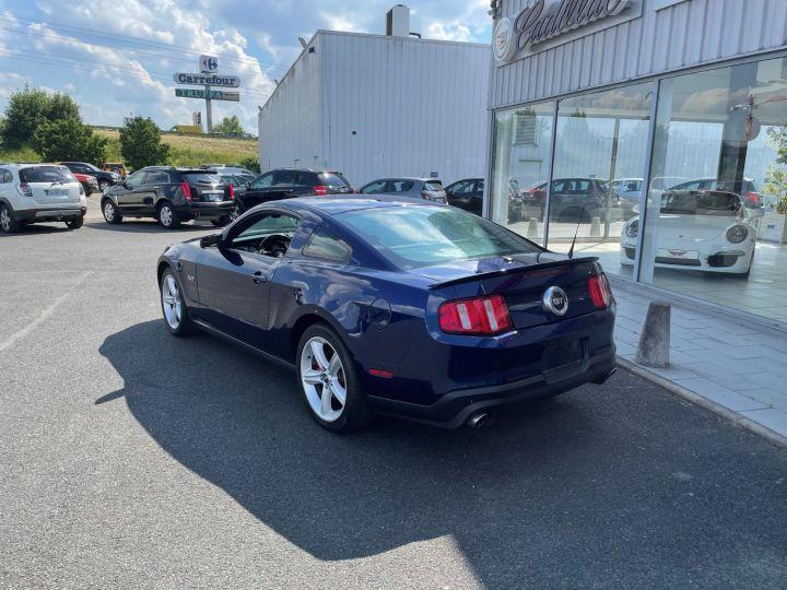 Ford Mustang GT V8 5.0L Bleu - 7