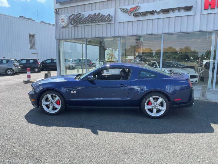 Ford Mustang GT V8 5.0L Bleu - 8