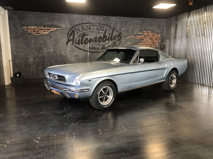 Ford Mustang Mustang fastback 289 ci 1965 rally pack pacific blue - 1