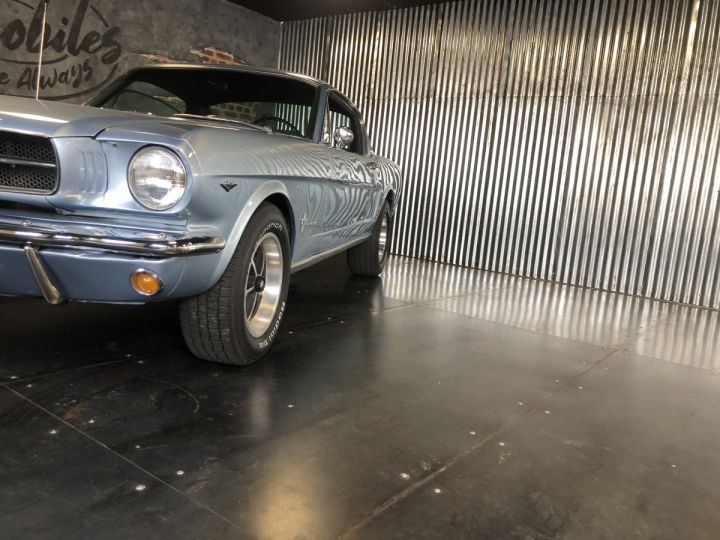 Ford Mustang Mustang fastback 289 ci 1965 rally pack pacific blue - 2