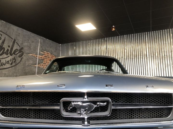 Ford Mustang Mustang fastback 289 ci 1965 rally pack pacific blue - 4