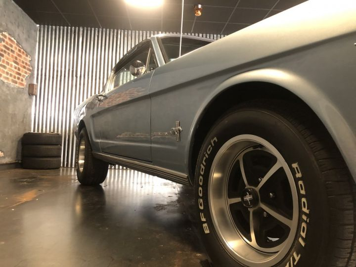 Ford Mustang Mustang fastback 289 ci 1965 rally pack pacific blue - 8