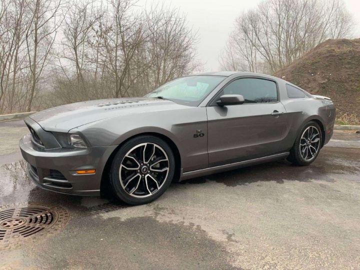 Ford Mustang V8 GT 5,0 L 420 cv US /Garantie 12 Mois / Livraison incluse Gris Magnetic Métallisé - 7