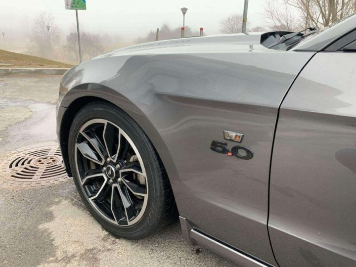 Ford Mustang V8 GT 5,0 L 420 cv US /Garantie 12 Mois / Livraison incluse Gris Magnetic Métallisé - 12
