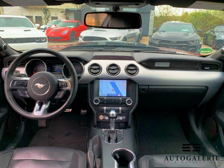 Ford Mustang VI * FASTBACK 5.0 V8 421 cv * GT PREMIUM BVA6 Rouge Candy Métallisé - 3