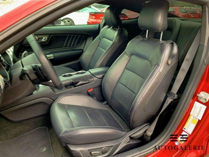 Ford Mustang VI * FASTBACK 5.0 V8 421 cv * GT PREMIUM BVA6 Rouge Candy Métallisé - 6