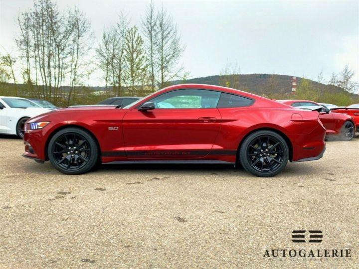 Ford Mustang VI * FASTBACK 5.0 V8 421 cv * GT PREMIUM BVA6 Rouge Candy Métallisé - 10