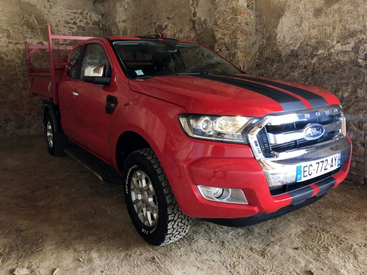 Ford Ranger  2.2 TDCI 160 S/S SUPER CAB XLT SPORT ROUGE Occasion - 1