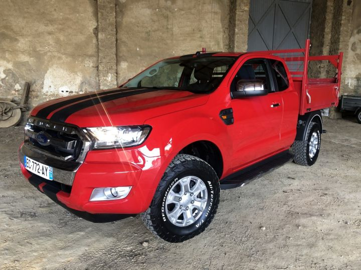 Ford Ranger  2.2 TDCI 160 S/S SUPER CAB XLT SPORT ROUGE Occasion - 7