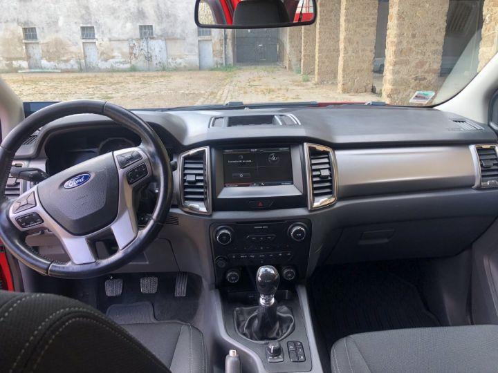 Ford Ranger 2.2 TDCI SUPER CAB XLT SPORT BENNE HYDRAULIQUE ROUGE Vendu - 3