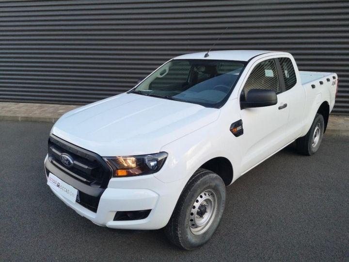 Ford Ranger 2 III 2.2 TDCI 160 SUPER CAB XL PACK. Blanc Verni Occasion - 1
