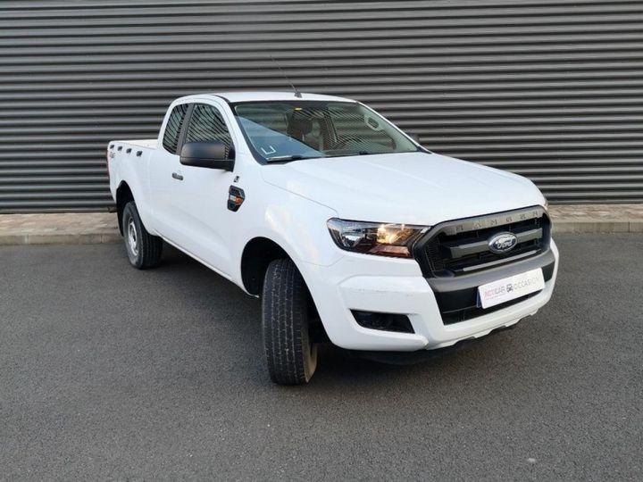 Ford Ranger 2 III 2.2 TDCI 160 SUPER CAB XL PACK. Blanc Verni Occasion - 2
