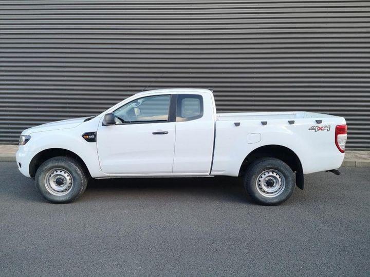 Ford Ranger 2 III 2.2 TDCI 160 SUPER CAB XL PACK. Blanc Verni Occasion - 4