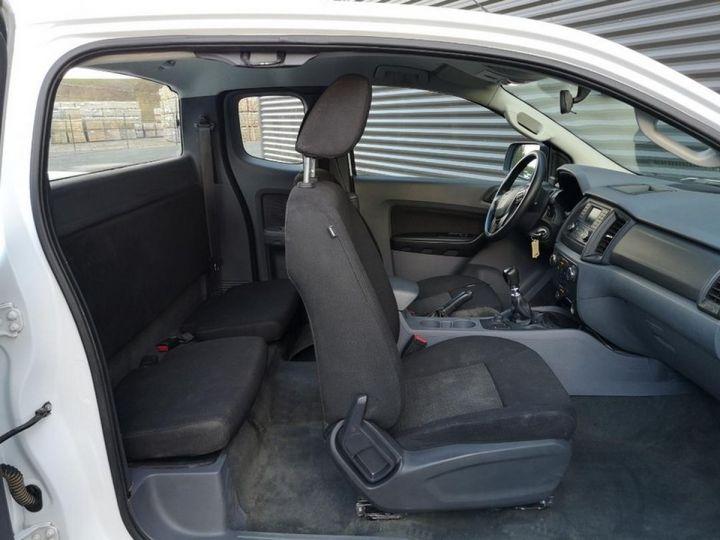 Ford Ranger 2 III 2.2 TDCI 160 SUPER CAB XL PACK. Blanc Verni Occasion - 7