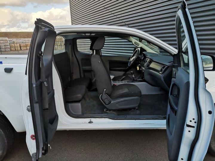 Ford Ranger 2 III 2.2 TDCI 160 SUPER CAB XL PACK. Blanc Verni Occasion - 9
