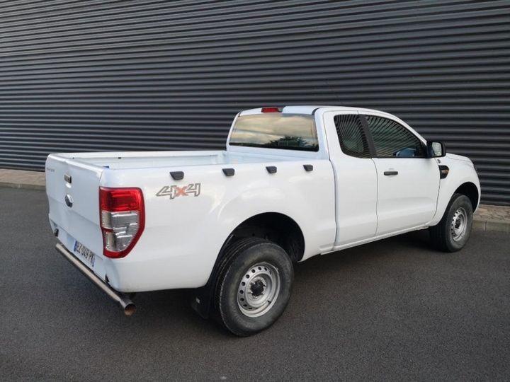 Ford Ranger 2 III 2.2 TDCI 160 SUPER CAB XL PACK. Blanc Verni Occasion - 11