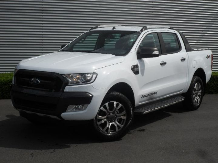 Ford Ranger double cab WILDTRACK BLANC - 1