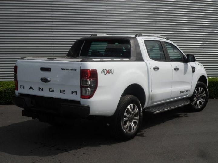 Ford Ranger double cab WILDTRACK BLANC - 2