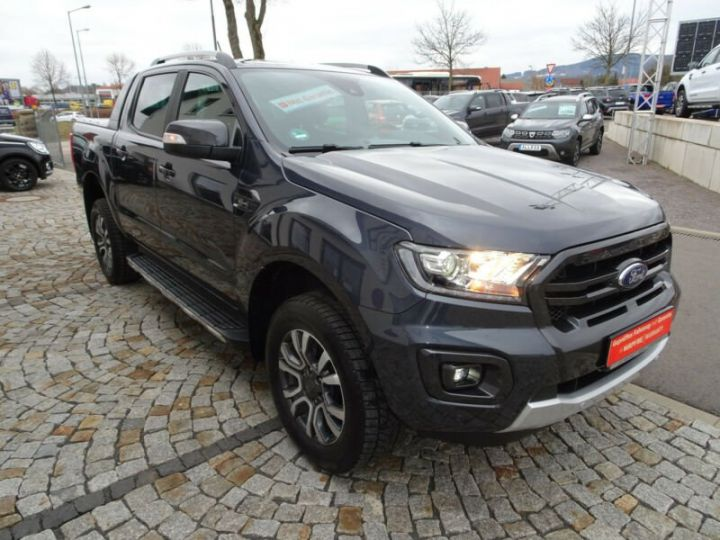Ford Ranger DOUBLE CABINE  gris royal - 1
