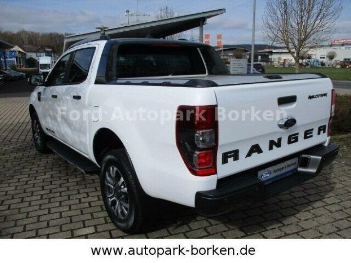 Ford Ranger double cabine 4x4 / garantie 3 ans  blanc  - 4