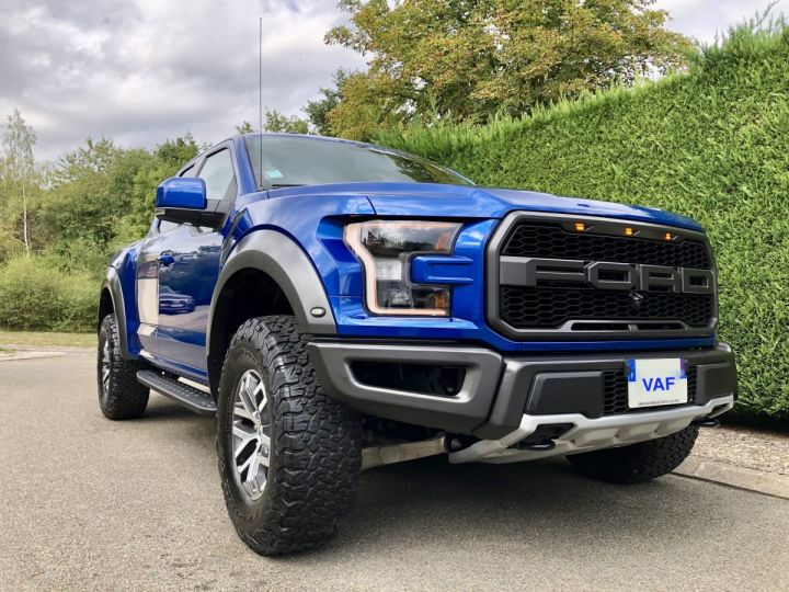 Ford Raptor F150 Supercab 450 CH 3.5L V6 Ecoboost Twin Turbo  BLEU Occasion - 1