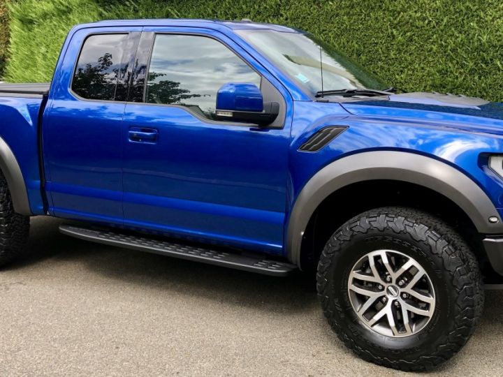 Ford Raptor F150 Supercab 450 CH 3.5L V6 Ecoboost Twin Turbo  BLEU Occasion - 2