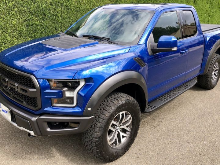 Ford Raptor F150 Supercab 450 CH 3.5L V6 Ecoboost Twin Turbo BLEU Vendu - 7