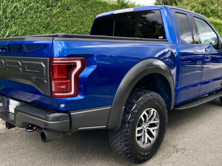 Ford Raptor F150 Supercab 450 CH 3.5L V6 Ecoboost Twin Turbo BLEU Vendu - 8