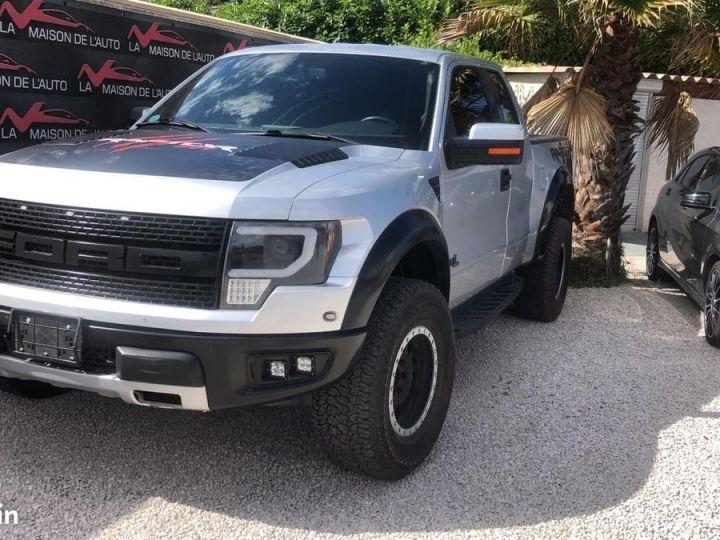 Ford Raptor Ford raptor f150 6,2l v8 supercab / gps / ford sync / camera / garantie et homologation Gris   - 1