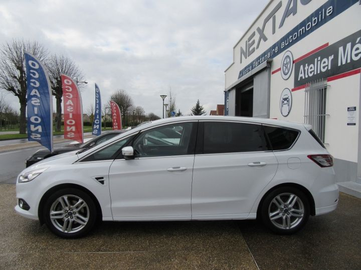 Ford S-MAX 2.0 TDCI 180CH STOP&START TITANIUM Blanc Occasion - 5