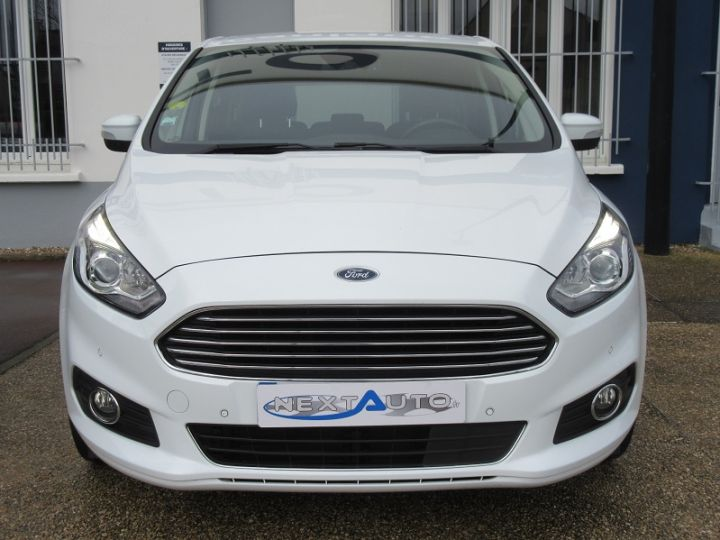 Ford S-MAX 2.0 TDCI 180CH STOP&START TITANIUM Blanc Occasion - 6