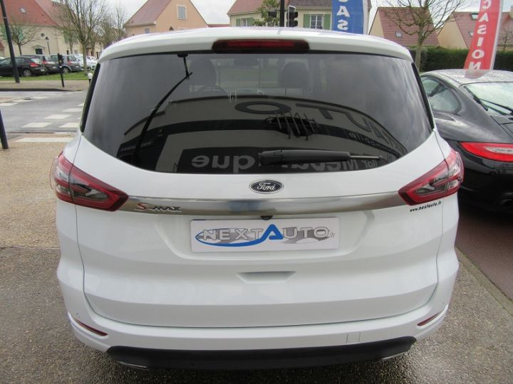 Ford S-MAX 2.0 TDCI 180CH STOP&START TITANIUM Blanc Occasion - 7
