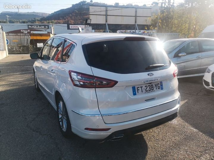 Ford S-MAX vignale BLANC METAL Occasion - 3