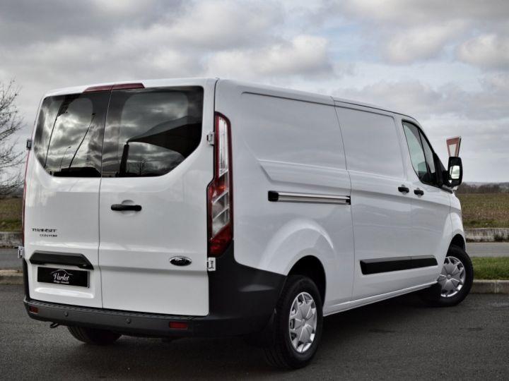 Ford Transit FORD TRANSIT CUSTOM L2H1 2.0 TDCI 170 1ère main CLIM RADAR CAMERA GPS EXCELLENT ÉTAT TVA RÈCUP BLANC - 4