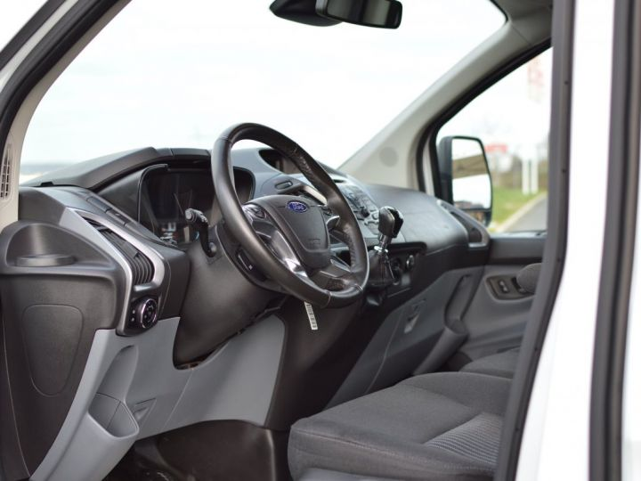 Ford Transit FORD TRANSIT CUSTOM L2H1 2.0 TDCI 170 1ère main CLIM RADAR CAMERA GPS EXCELLENT ÉTAT TVA RÈCUP BLANC - 7