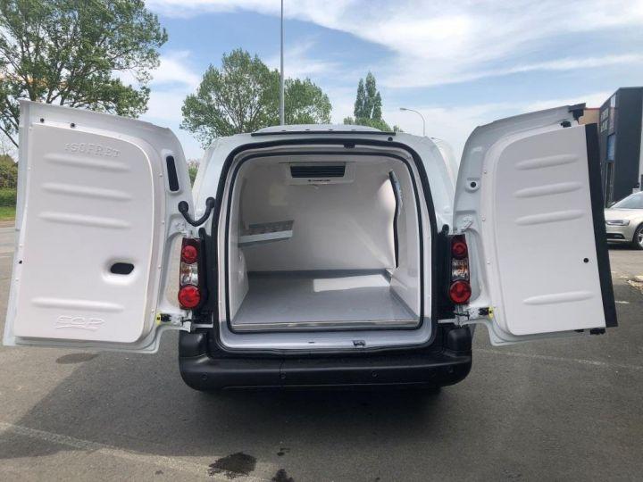 Fourgon Citroen Berlingo Caisse frigorifique BLANC - 5