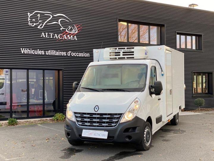 Fourgon Renault Master Caisse frigorifique 125 CV FOURGON FRIGORIFIQUE MULTI TEMPERATURE FRC X BLANC - 4