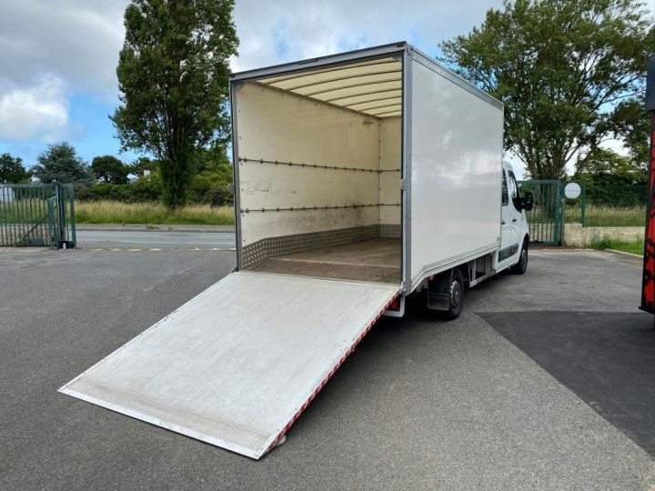 Fourgon Renault Master Chassis cabine 125 CV FOURGON 17m3 PAN COUPE DOUBLE CABINE 7 PLACES RAMPE ALUMINIUM MANUELLE   BLANC - 4