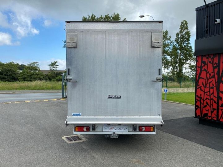 Fourgon Renault Master Chassis cabine 125 CV FOURGON 17m3 PAN COUPE DOUBLE CABINE 7 PLACES RAMPE ALUMINIUM MANUELLE   BLANC - 5