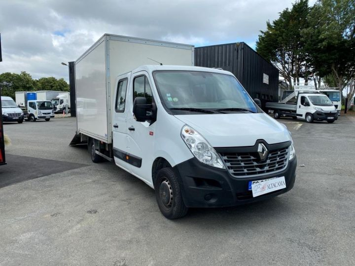 Fourgon Renault Master Chassis cabine 125 CV FOURGON 17m3 PAN COUPE DOUBLE CABINE 7 PLACES RAMPE ALUMINIUM MANUELLE   BLANC - 6