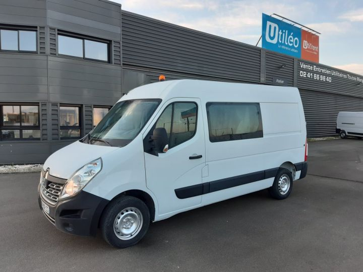 Fourgon Renault Master Fourgon Double cabine 3.5 L2H2 2.3 DCI 110CH CABINE APPROFONDIE  BLANC - 1