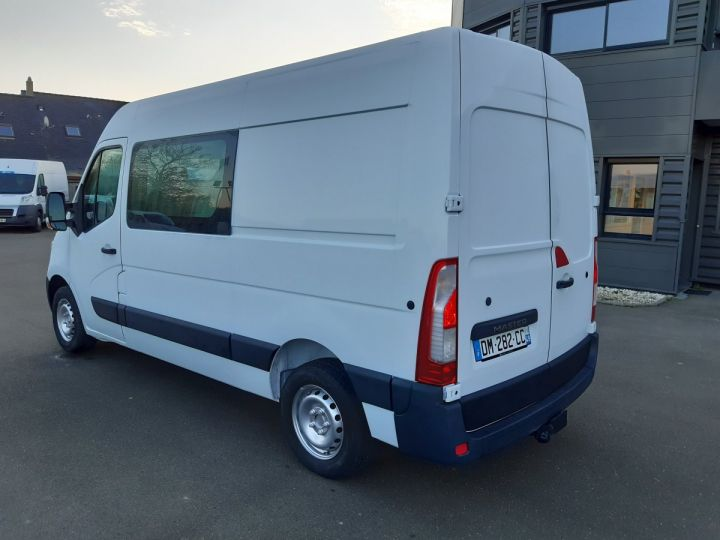 Fourgon Renault Master Fourgon Double cabine 3.5 L2H2 2.3 DCI 110CH CABINE APPROFONDIE  BLANC - 4