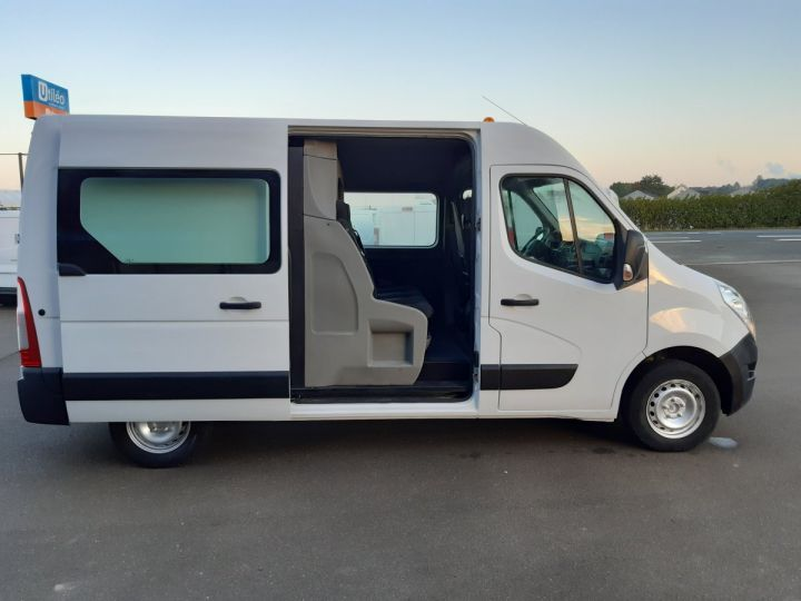Fourgon Renault Master Fourgon Double cabine 3.5 L2H2 2.3 DCI 110CH CABINE APPROFONDIE  BLANC - 7