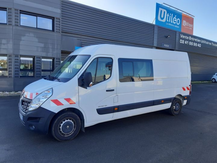 Fourgon Renault Master Fourgon Double cabine 3T5 L3H2 2.3 DCI 145CH CABINE APPROFONDIE 7 PLACES BLANC - 1