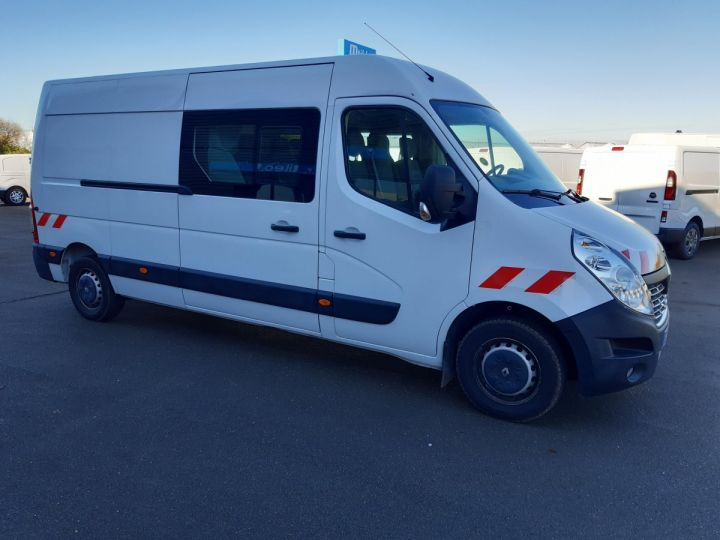 Fourgon Renault Master Fourgon Double cabine 3T5 L3H2 2.3 DCI 145CH CABINE APPROFONDIE 7 PLACES BLANC - 2
